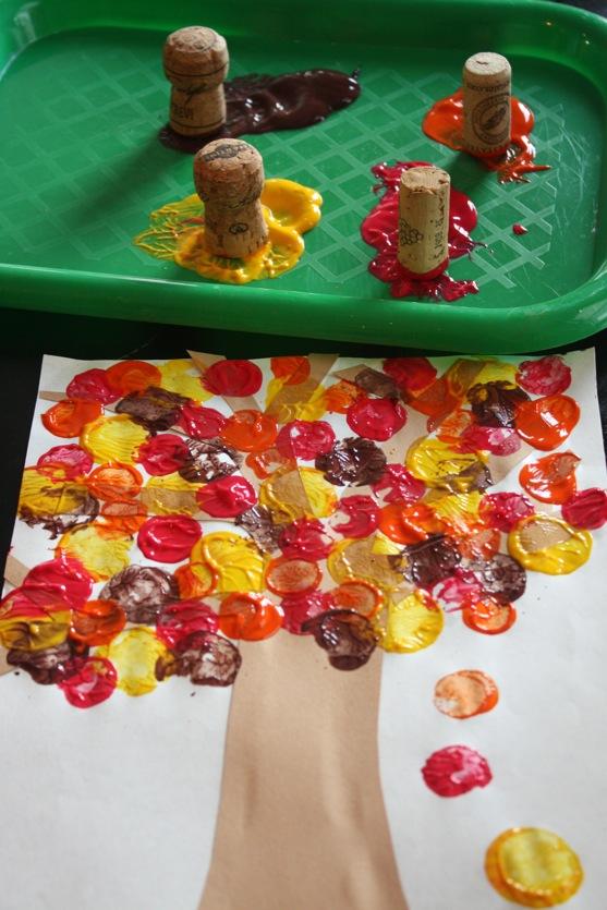Autumn-Cork-Painting-5